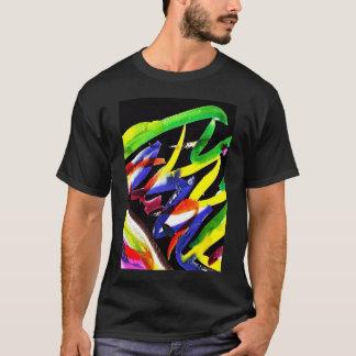 Camiseta de la pintura de la samba