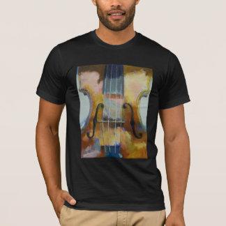 Camiseta de la pintura del violín