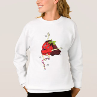 """Camiseta de la """"pirueta"""" de Hanes de los chicas Polera"""