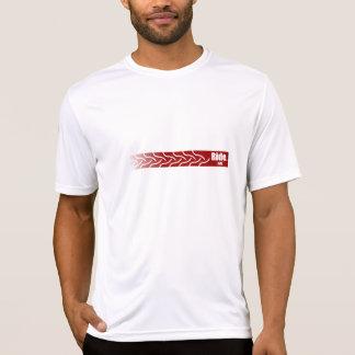 Camiseta de la pista del neumático