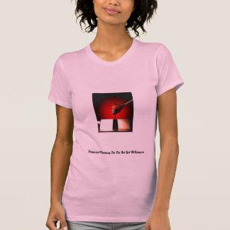 Camiseta de la planificación financiera