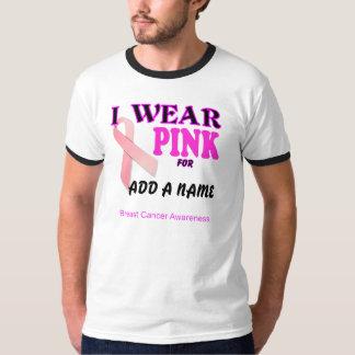 Camiseta de la plantilla de la conciencia del