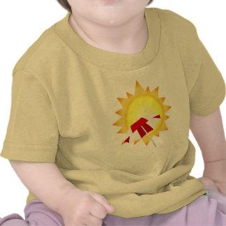 Camiseta de la playa del tiempo de verano