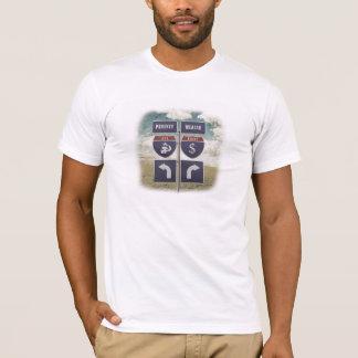 Camiseta de la Pobreza-Riqueza