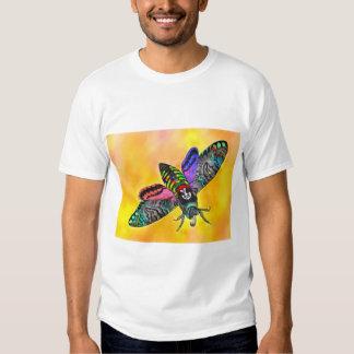 Camiseta de la polilla del gótico remera