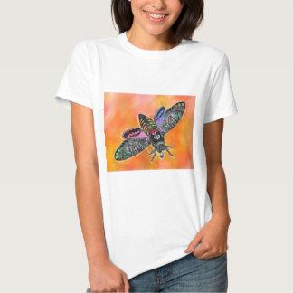 Camiseta de la polilla del gótico remeras