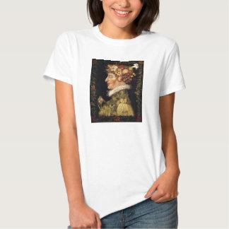 Camiseta de la primavera de Arcimboldo Playera