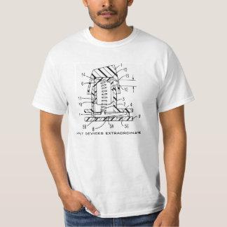 Camiseta de la primavera que abrocha playera