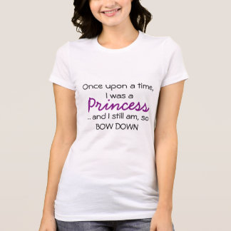 Camiseta de la princesa playeras