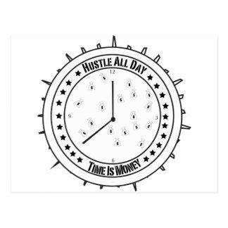 Camiseta de la prisa postal