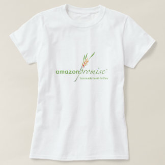 Camiseta de la promesa del Amazonas de las mujeres Playera