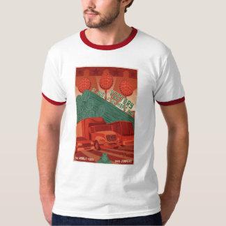 Camiseta de la propaganda de la arcada remera