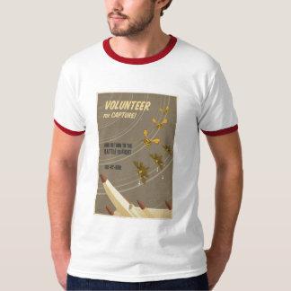 Camiseta de la propaganda del juego de arcada playera