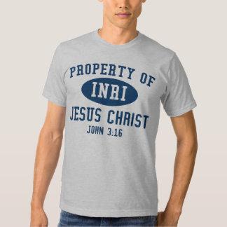 Camiseta de la propiedad playeras