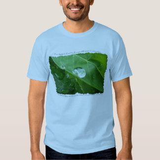 Camiseta de la PROTECCIÓN de AGUA Poleras
