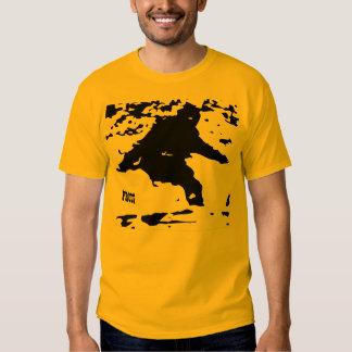 """Camiseta de la """"prueba"""" de Bigfoot Playera"""
