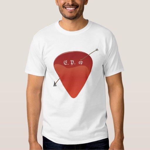 Camiseta de la púa de guitarra playeras