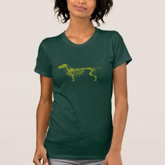 Camiseta de la radiografía del Dachshund Playera