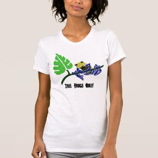Camiseta de la rana arbórea playera