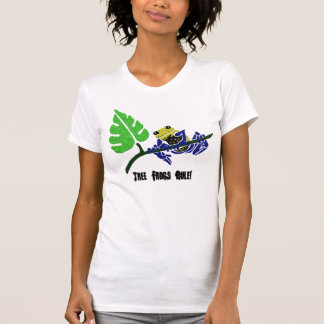 Camiseta de la rana arbórea playeras