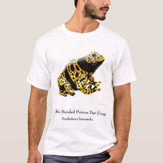 Camiseta de la rana del dardo del veneno de los