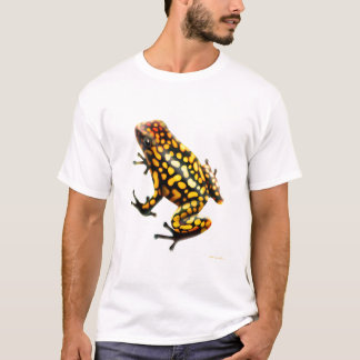 Camiseta de la rana del dardo del veneno del