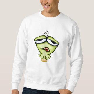 Camiseta de la rana del dibujo animado sudadera