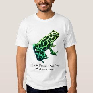 Camiseta de la rana del veneno del imitador de camisas
