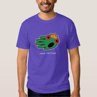 Camiseta de la rana poleras