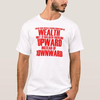 Camiseta de la redistribución de la riqueza