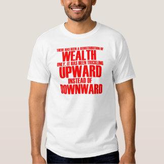 Camiseta de la redistribución de la riqueza polera