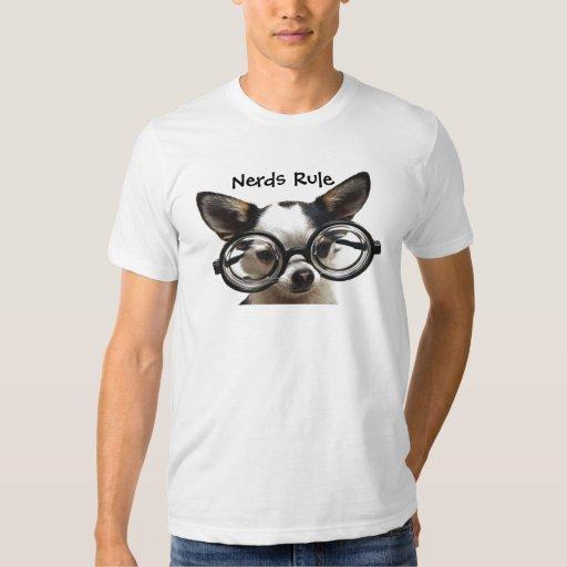 Camiseta de la regla de los empollones (perro playeras