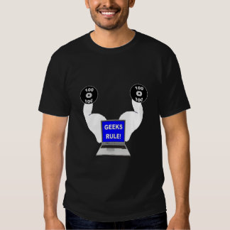 Camiseta de la regla de los frikis camisas