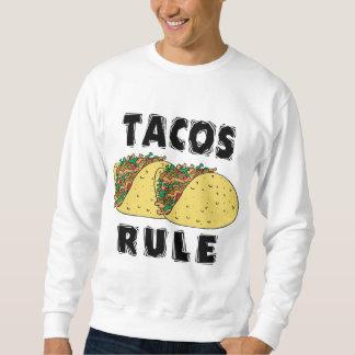 Camiseta de la regla del Tacos Suéter