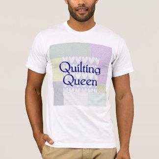 Camiseta de la reina que acolcha