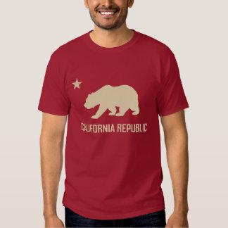 Camiseta de la república de California Playera