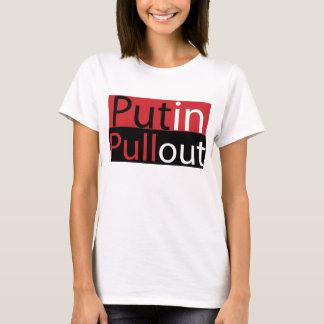 Camiseta de la retirada de Putin de las mujeres