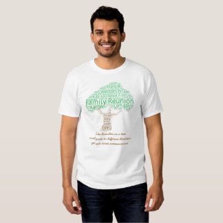 Camiseta de la reunión de familia de Nagle Playera