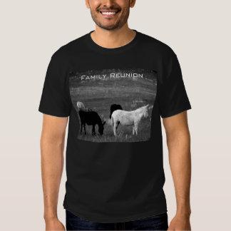 Camiseta de la reunión de familia (humor) II Playeras