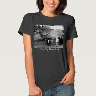 Camiseta de la reunión de familia (humor) remeras