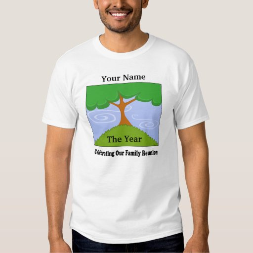 Camiseta de la reunión de familia poleras