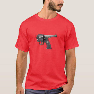 Camiseta de la revocación de la pistola