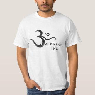Camiseta de la revocación del logotipo de Overmind