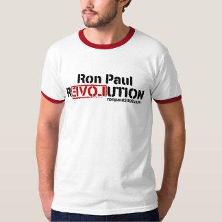 Camiseta de la revolución de Ron Paul Playeras