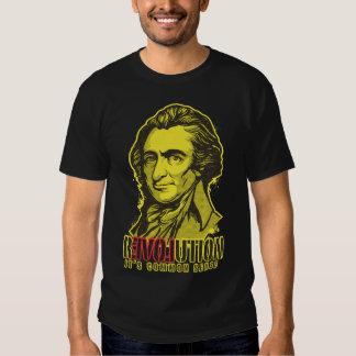 Camiseta de la revolución de Thomas Paine Remera