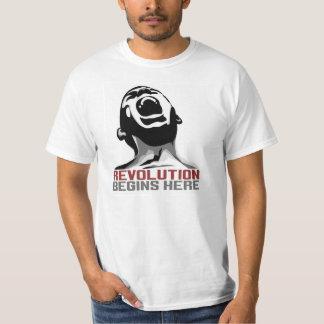 Camiseta de la revolución poleras