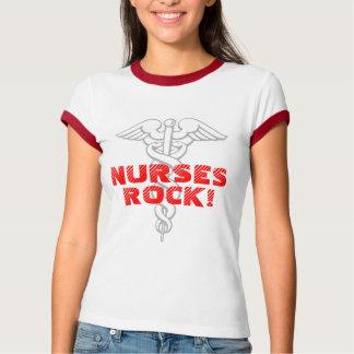 Camiseta de la roca de las enfermeras remera