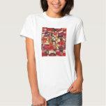 Camiseta de la rosaleda de Paul Klee Playera