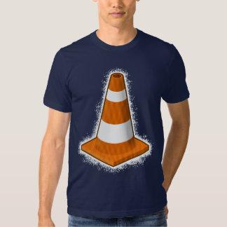 Camiseta de la salpicadura del cono de la playeras