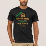 Camiseta de la salsa de soja